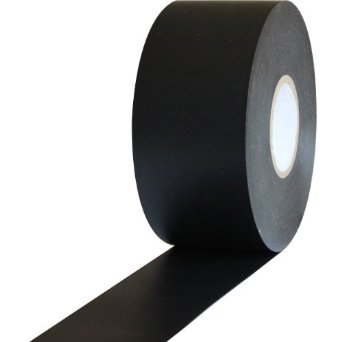 black wrapping tape